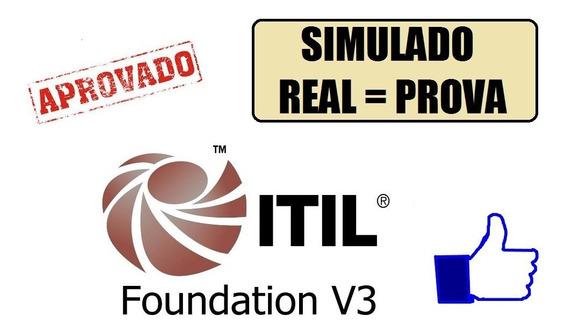 Simulados Para A Prova Itil Foundation Em Português Br