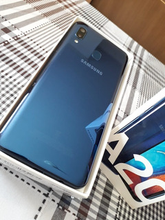 Samsung Galaxy A20 32gb Azul 4g - 3gb Ram