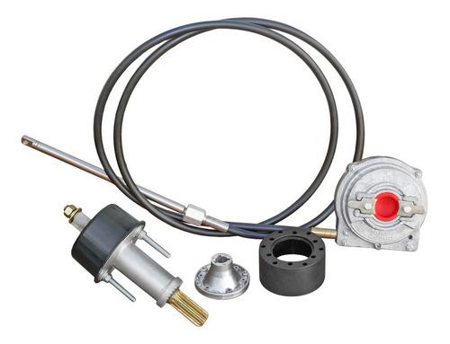 Sistema De Dirección P/lancha Caja + Cable 13pies Mayor 90hp