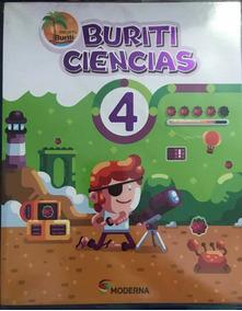 Livro Projeto Buriti Ciências 4