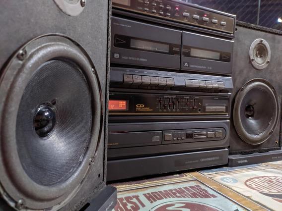 Aparelho De Som Vintage Muito Conservado - Toshiba