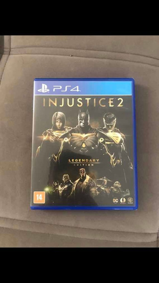 Jogo Injustice 2-legendary Edition Em Mídia Física Para Ps4