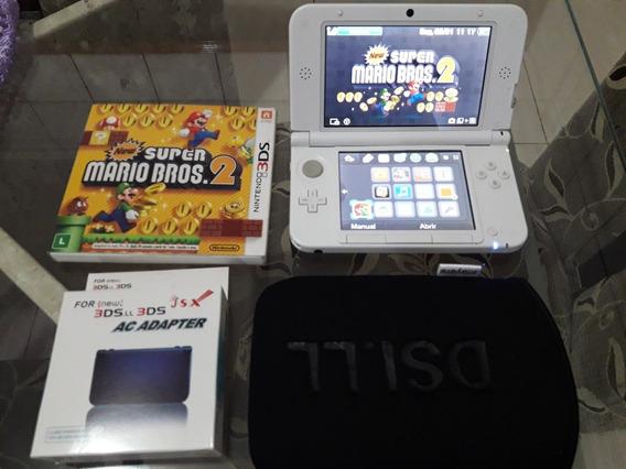 Nintendo 3ds Xl + Mario + Case