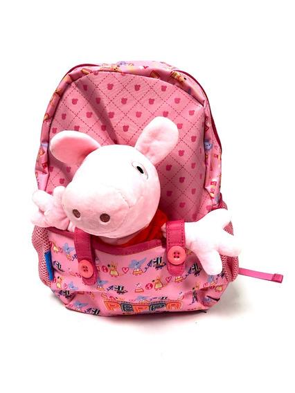 Mochila Espalda Peppa Pig Peluche 13