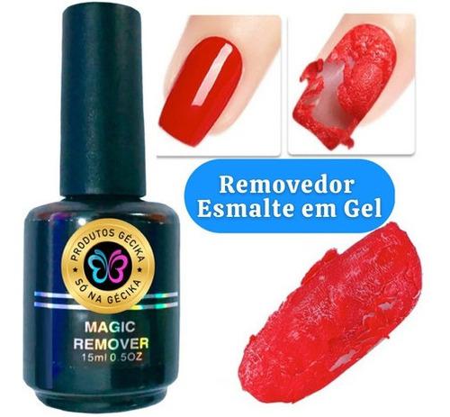 Imagem 1 de 4 de Magic Remover Esmalte Gel Removedor Acrigel Manicure