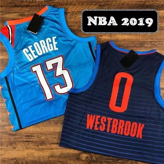 Russell Westbrook #0 Oklahoma City New Temp 19 - A Pedido