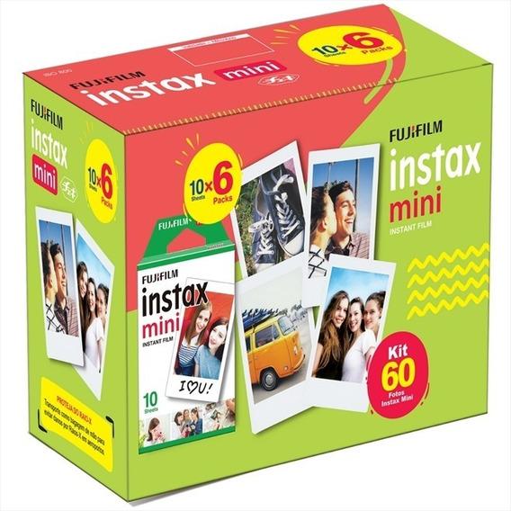 Kit Filme Instax Mini Fujifilm 60 Fotos