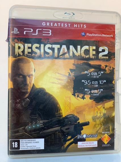 Jogo Resistance 2 -ps3 - Usado Original Física