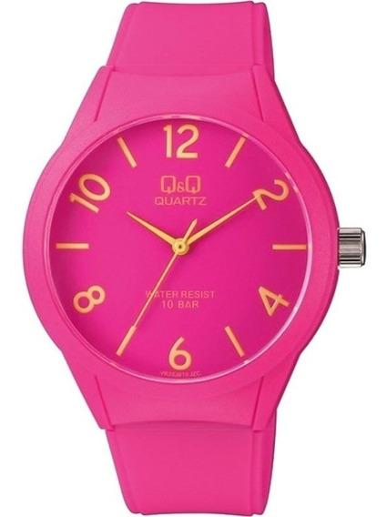 Relógio Q&q By Japan Feminino Vr28j019y, C/ Garantia E Nf