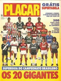 Revista Digitalizada Placar Guia Brasileiro 1991 + 2 Álbuns