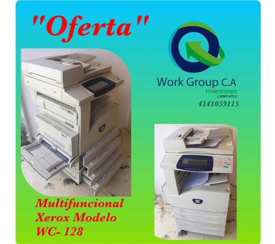 Fotocopiadora Xerox Work Centre M-128 Cómo Nueva !