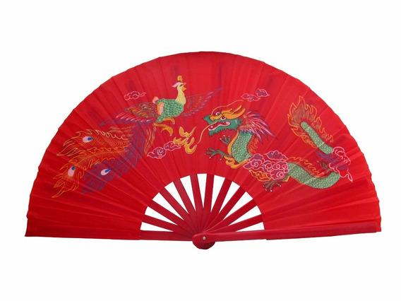 Leque Oriental Grande Dança Kung Fu Tai Chi Chuan Hachi8