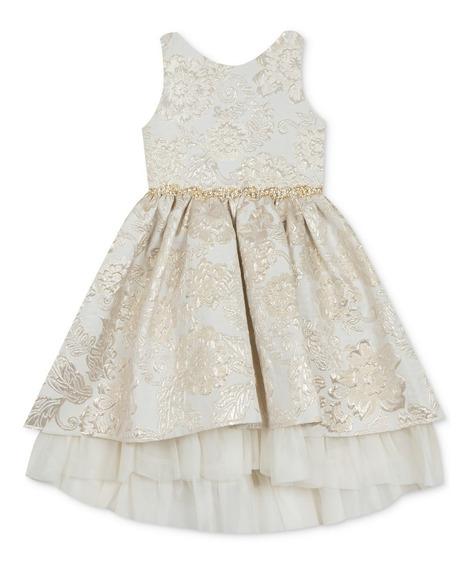 Vestido Para Niña Fiesta Boda Elegante Americano Fino