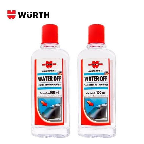 Cristalizador De Para Brisa 100ml Wurth Water Off 2 Unidades