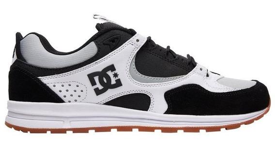 Tênis Dc Shoes Kalis Lite Black Grey White 11530 Original