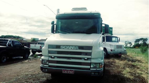 Caminhão Scania 124360 2002/batatais Caminhões
