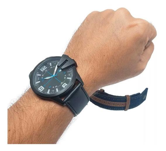 Relógio Masculino Lince Mrc4486s Kw39p2px 1 Ano De Garantia + Nota Fiscal + Pulseira