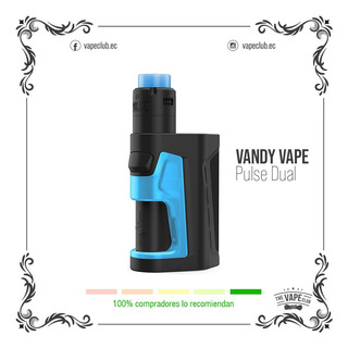 Vandy Vape Pulse Dual Kit Vape - Cigarrillo Electronico