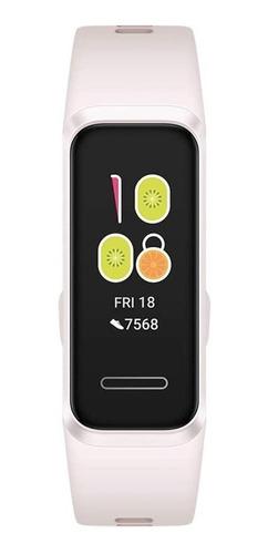 """Imagen 1 de 4 de Huawei Band 4 0.96"""" caja de  plástico malla  sakura pink de  caucho de silicona ADS-B29"""