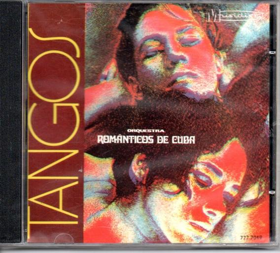 Cd Tangos - Orquestra Romanticos De Cuba