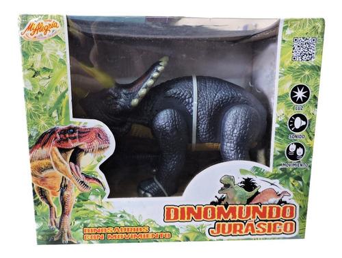 Imagen 1 de 1 de Dinomundo Dinosaurios Con Movimiento Mi Alegria