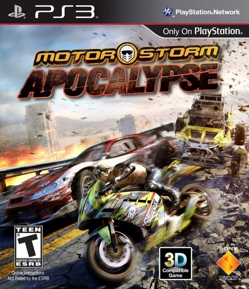 Motorstorm Apocalypse Digital Psn - Ps3 Receba Agora