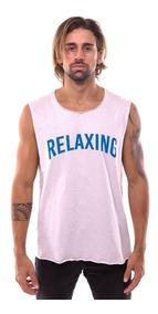 Regata Masculina Estampada Cavada Camiseta Camisa Verão 2019