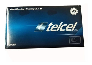Chip Telcel 4g Lte Cdmx Lada 55 Activo