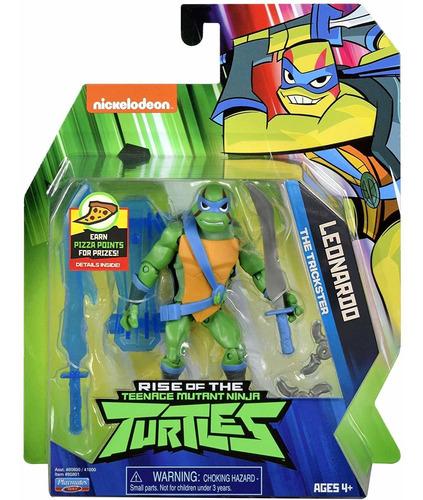 Imagem 1 de 5 de Tartarugas Ninja - Figuras De Ação - Leonardo 12 Cm - Sunny