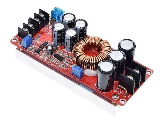 Conversor Step Up 1200w 80v Elevador - Corrente Constante.