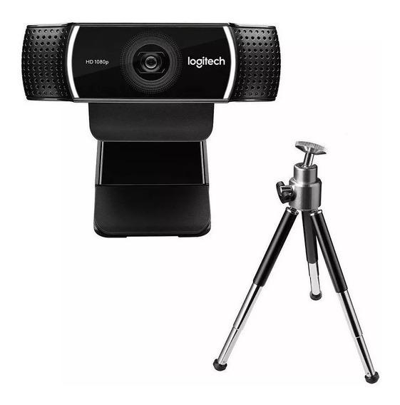 Webcam Logitech C922 Pro Streamer Full 1080p - Nfe