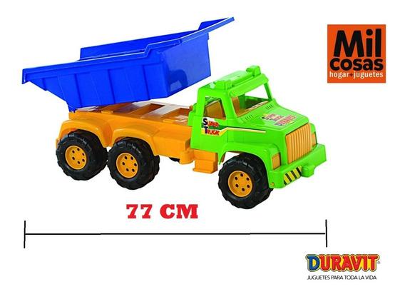 Camion Duravit Volcador Gigante 77cm Envio Milcosaslanus