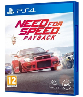 Need For Speed Payback Ps4. Entrega Inmediata. Español.