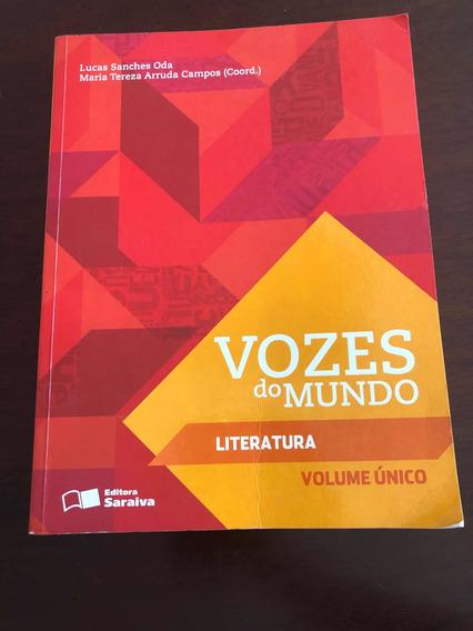 Livro Vozes Do Mundo - Literatura