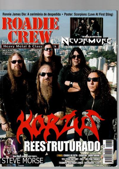 Roadie Crew Korzus Reestruturado Nº138