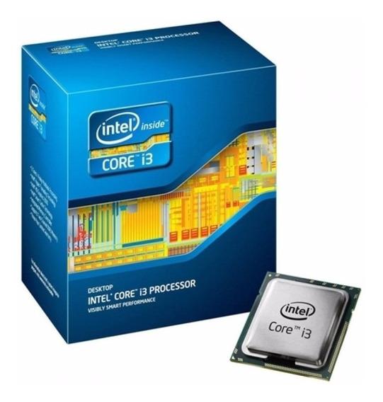 Processador I3 2120 3.3ghz Com Pouco Uso Na Caixa