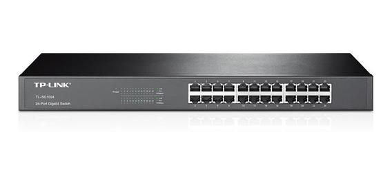 Tp-link Switch 24 Puertos Gigabit Tl-sg1024 Rackeable R19 Ac