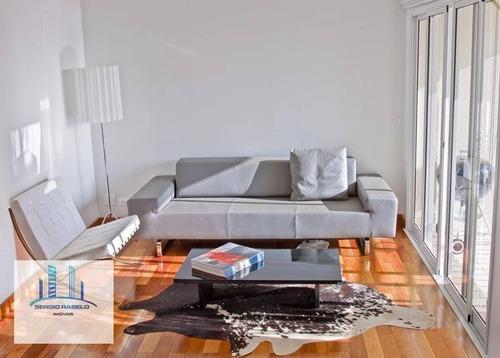 Imagem 1 de 26 de Apartamento À Venda, 75 M² Por R$ 1.250.000,00 - Moema - São Paulo/sp - Ap3244