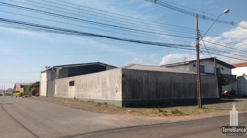 Barracão Para Alugar, 830 M² Por R$ 5.500,00/mês - Uvaranas - Ponta Grossa/pr - Ba0006
