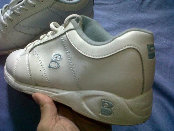 Zapatos Bota Deportiva Damas Talla 38 Bowling Boliche $10