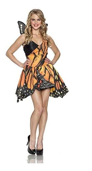 Mariposa Monarca Alas Vestido Falda Disfraz Halloween Party