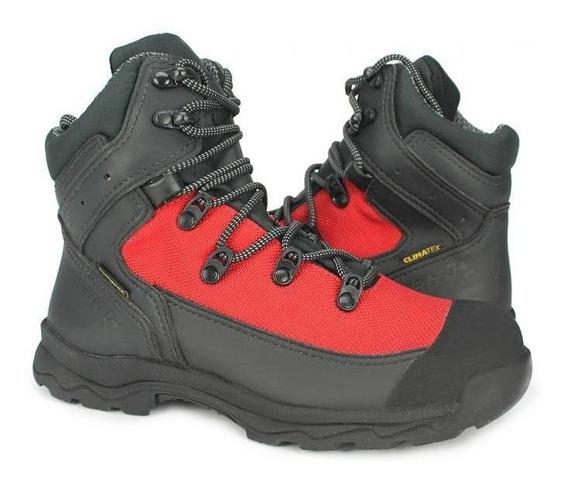 Bota Vento New X-pro Iii Waterproof Preto/vermelho