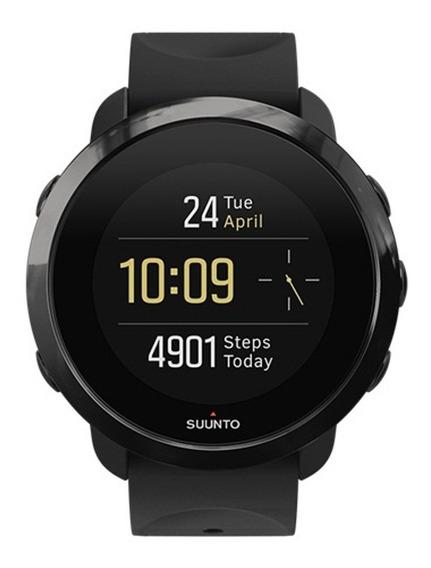 Reloj Suunto 3 Fitness Inteligente Para Entrenar All Black