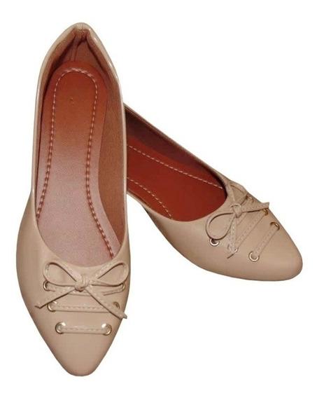 Sapato Sapatilha Rasteirinha Feminina Bico Fino Moda Primavera Verão O Calçado Ideal Para Trazer Conforto E Estilo