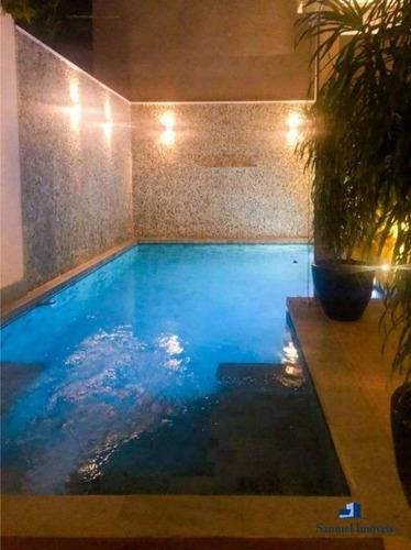 Casa À Venda, 310 M² Por R$ 3.900.000,00 - Campo Belo - São Paulo/sp - Ca0377