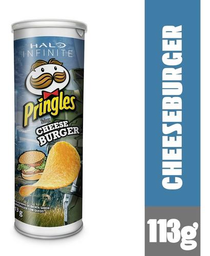 Batata Pringles Sabor Cheeseburguer 113g
