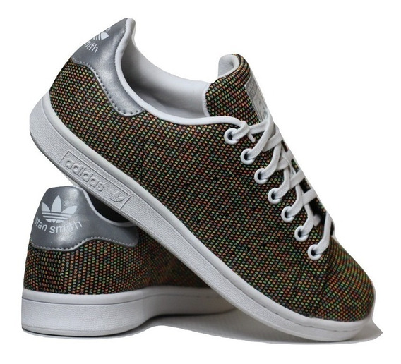 Tênis adidas Stan Smith Jazzy Knit J - Casual / Lifestyle