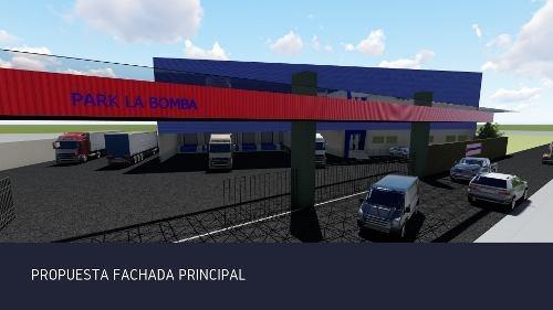 Renta Bodega Nave Industrial, Parque La Bomba Lerma Nueva