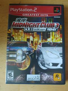 Midnight Club 3 Dub Edition Remix Ps2 Seminuevo