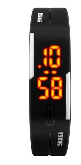 Relógio Pulseira Skmei Masculino Feminino Digital Esportivo Para Corrida Leve Fino Original Barato Com Nota Fiscal